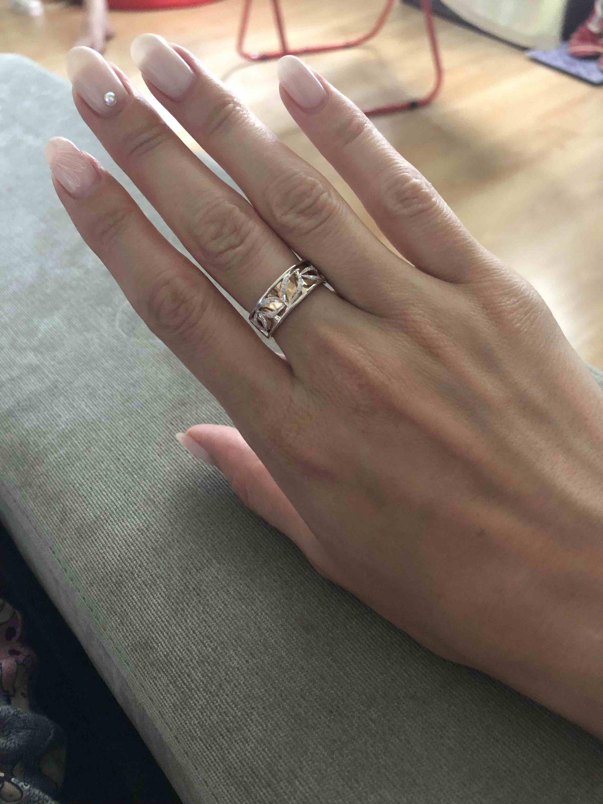 Необычное, привлекательное кольцо