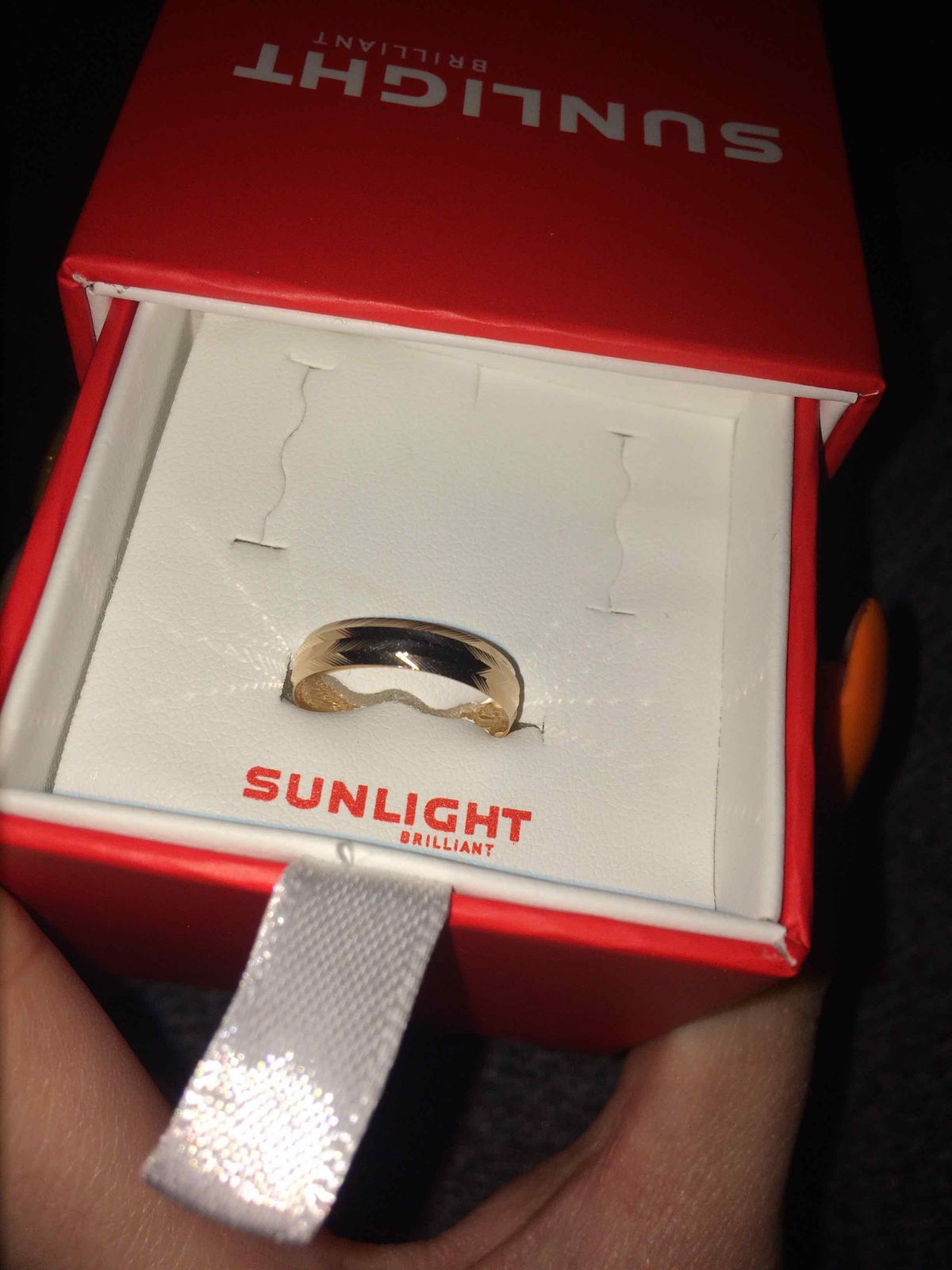 Отличное обручальное кольцо 😊