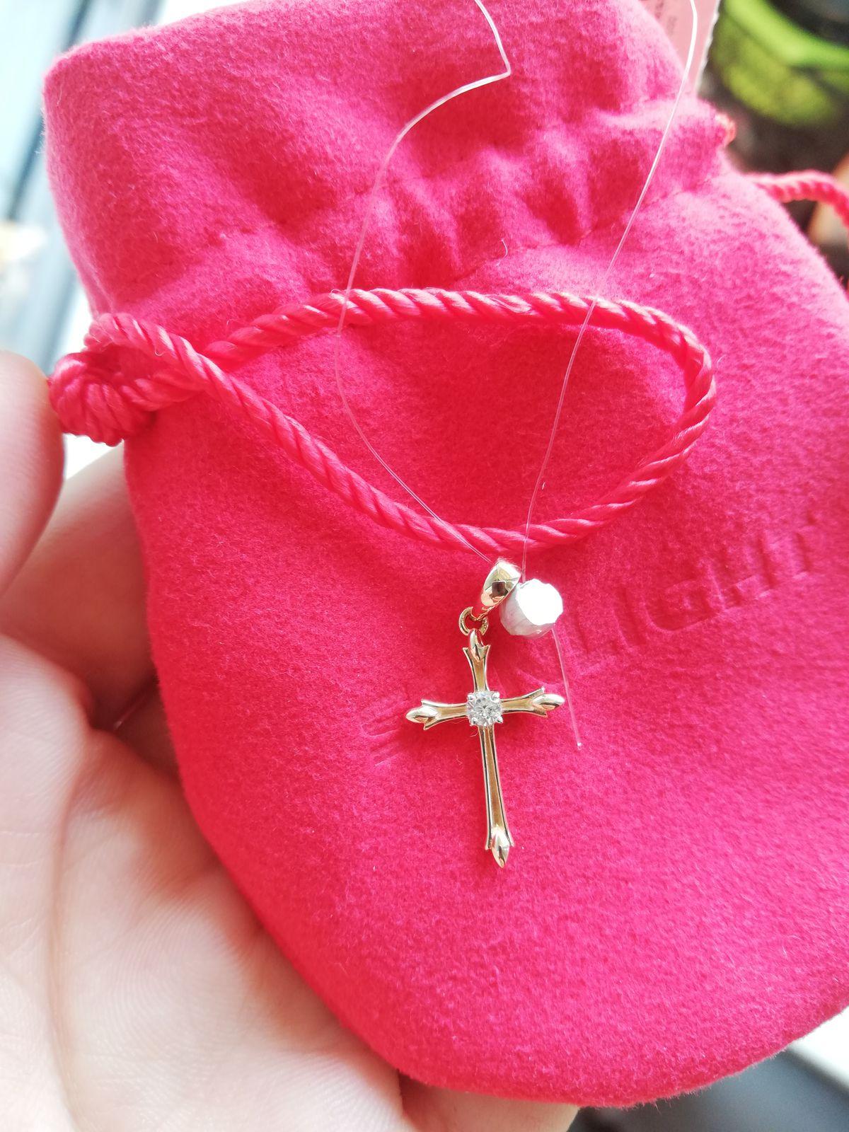 Чудесный крестик. ❤️