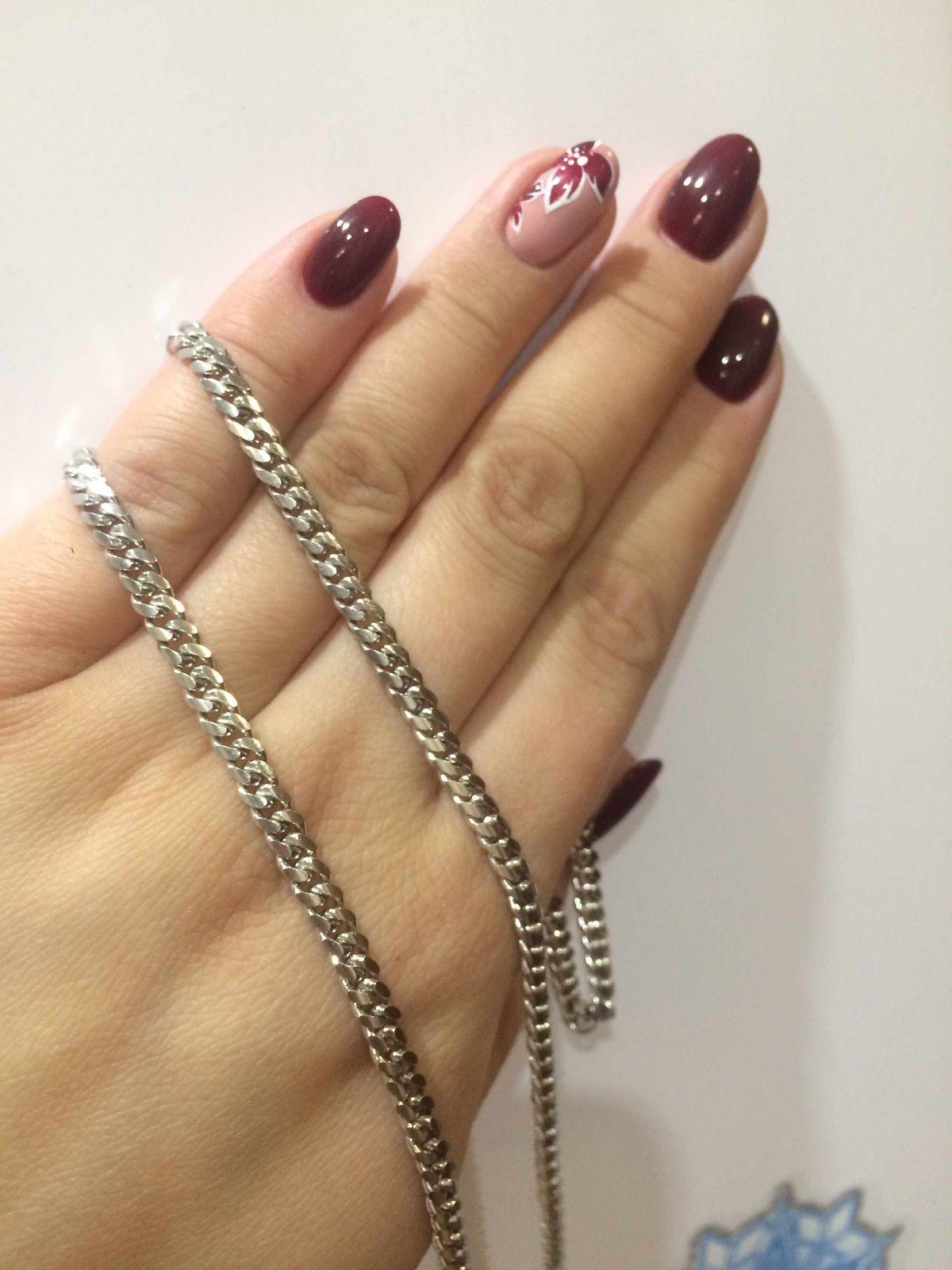 Серебрянная цепочка для мужа