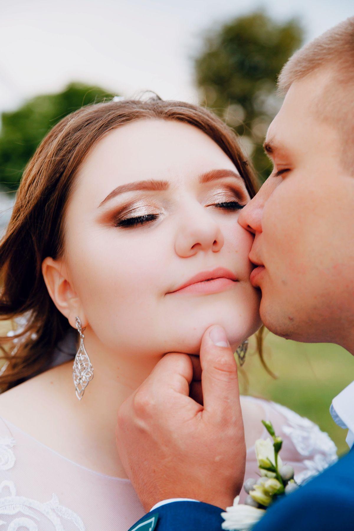 Свадебные серьги!