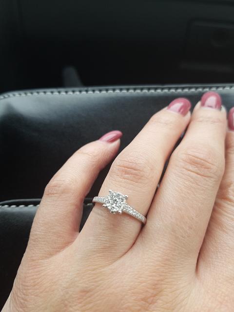 Красивое кольцо на день рождения!!!