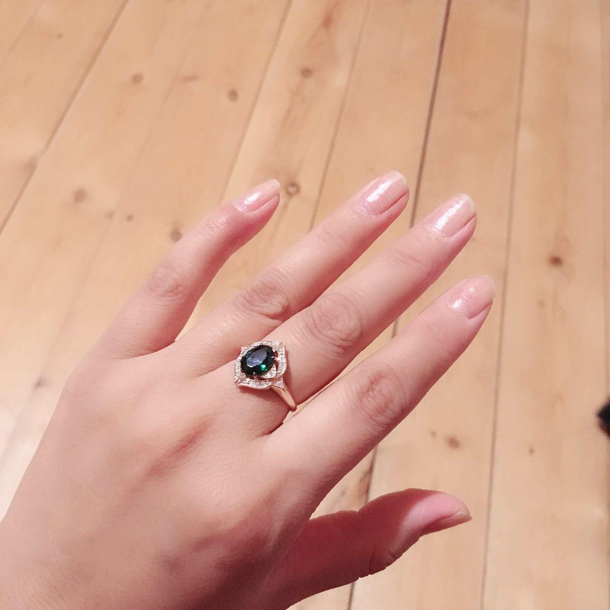 Завораживающее кольцо!