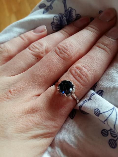 Очень красивое кольцо, я в восторге!
