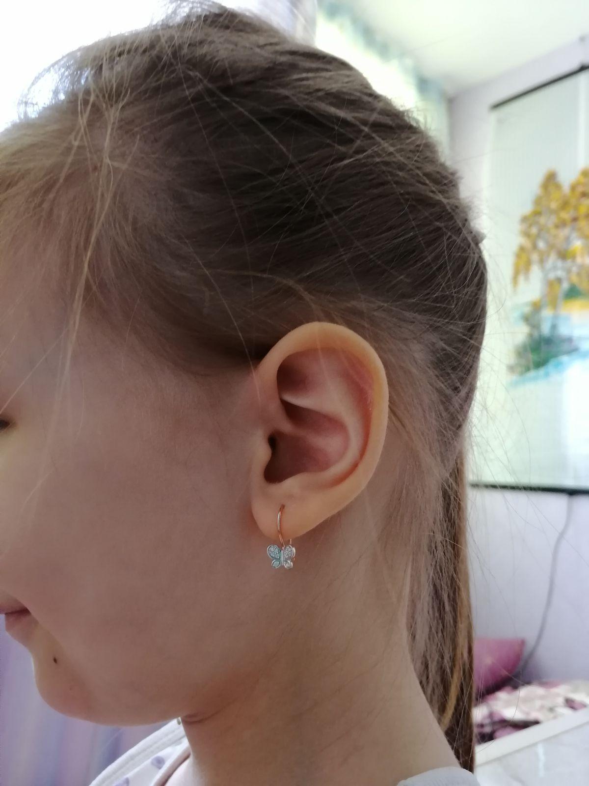 Очень красивые серёжки для девочек.