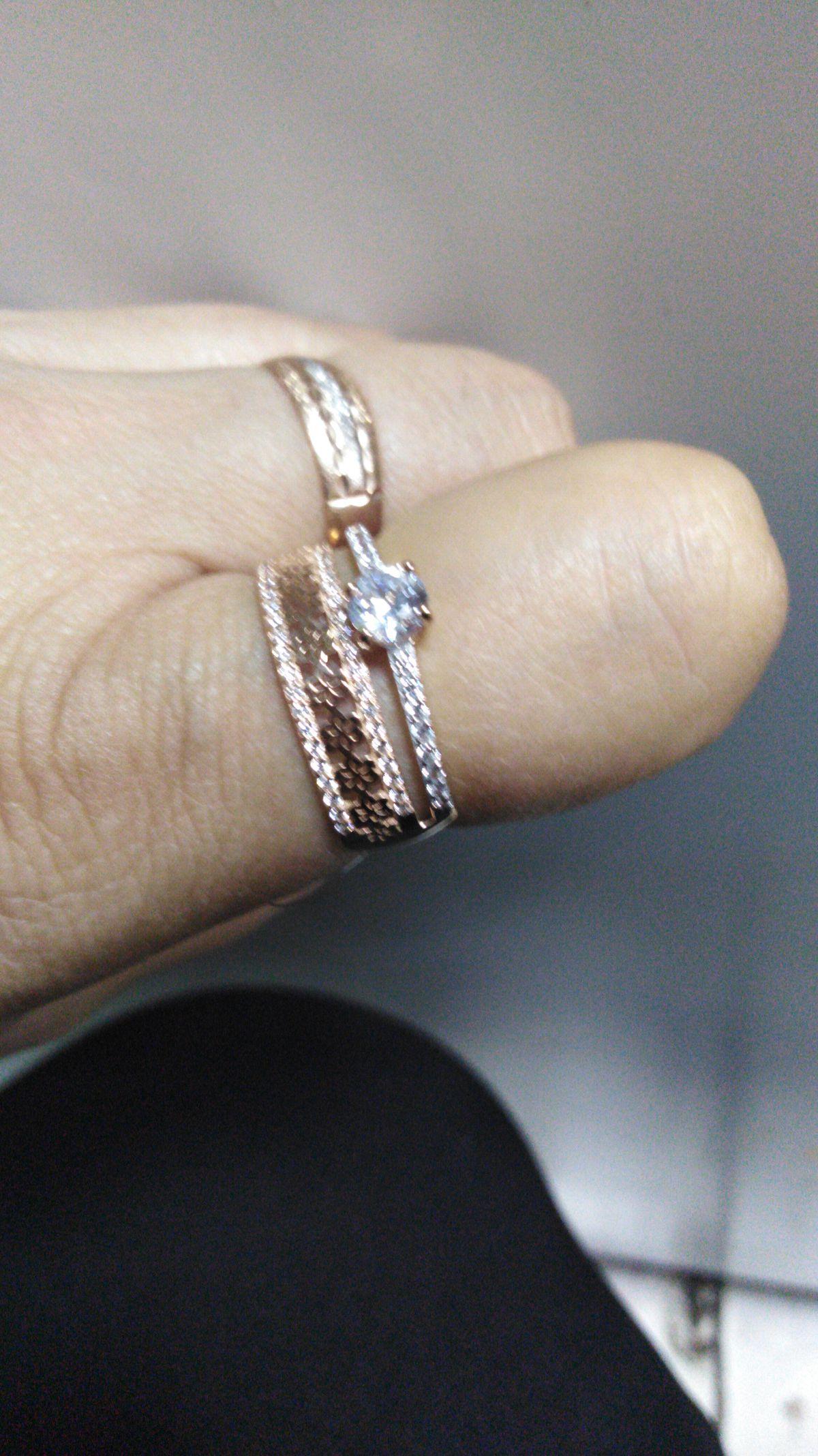 Кольцо с крупным сапфиром