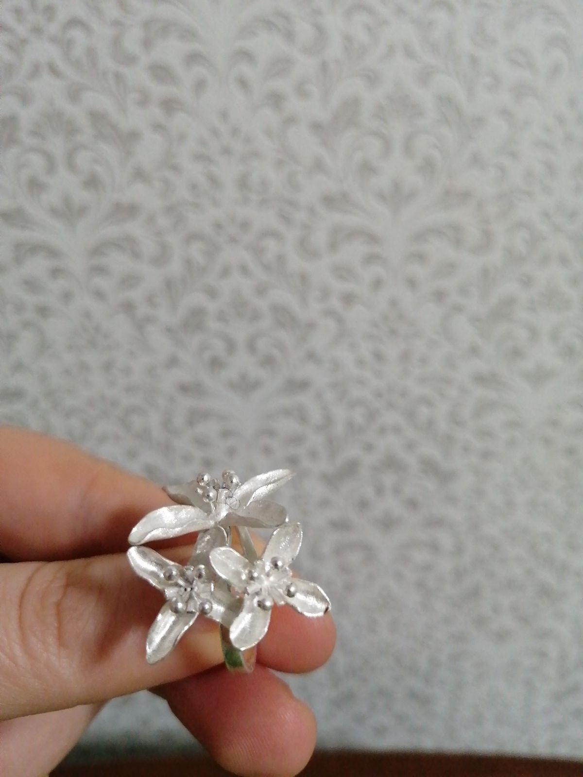 Колечко серебрянное