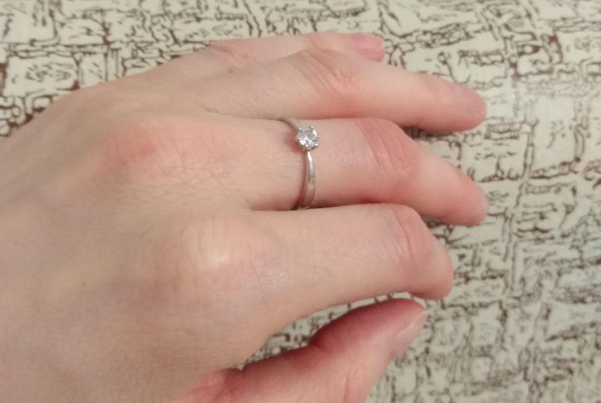 Серебряное кольцом