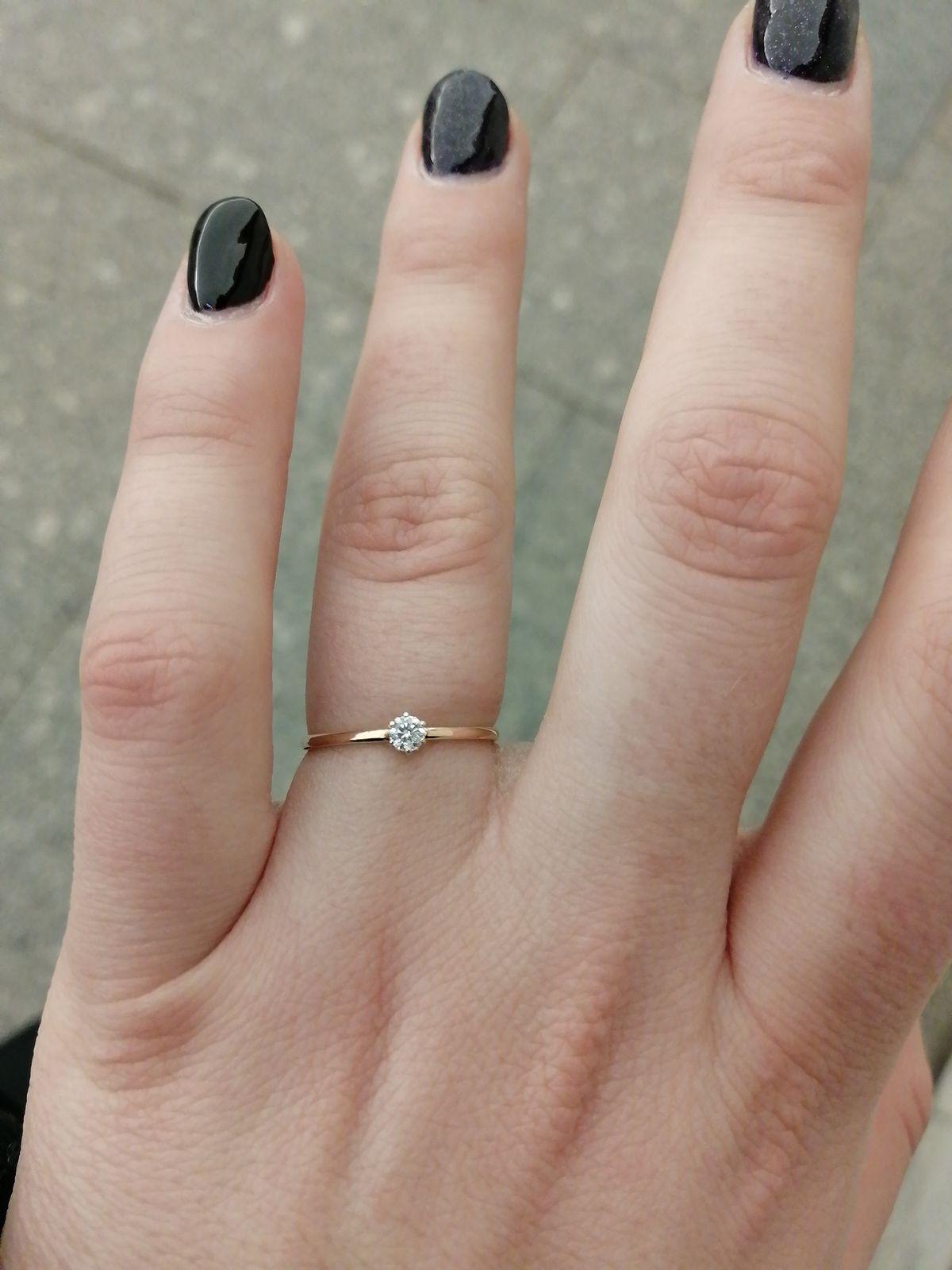 Кольцо в подарок!