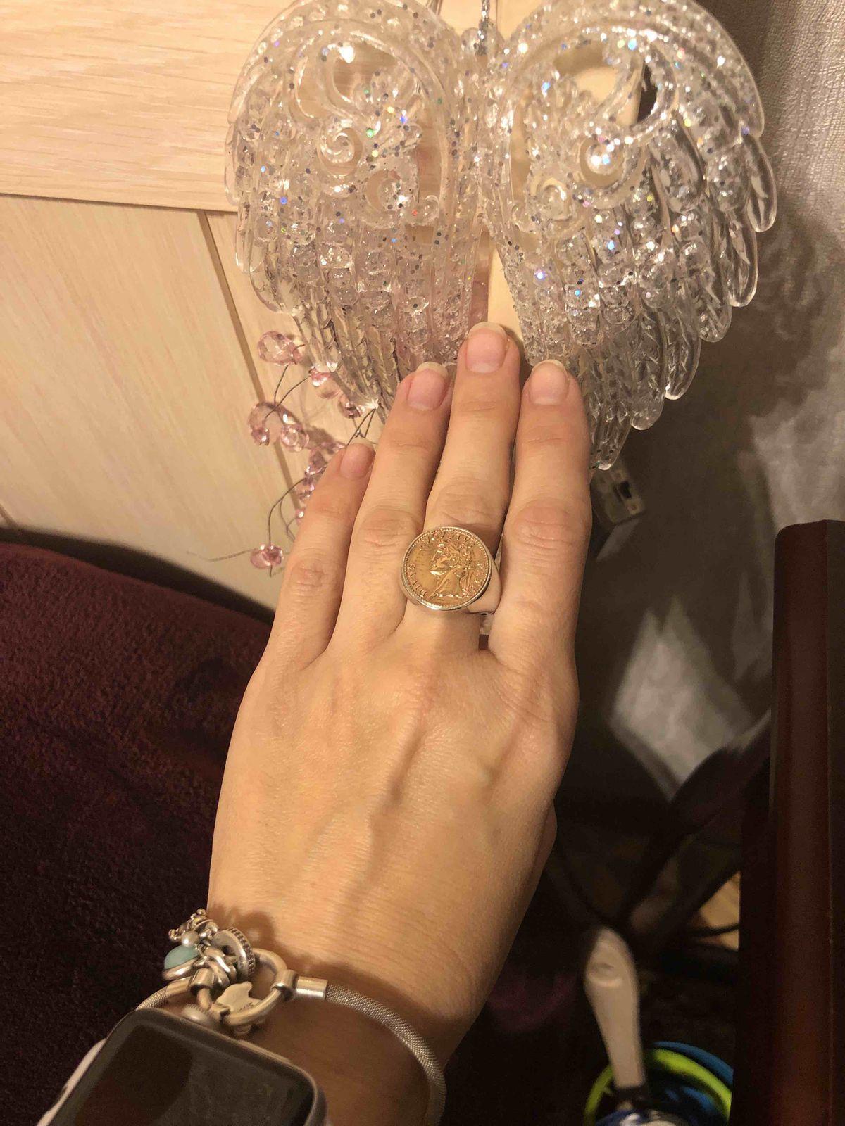 Крупный перстень
