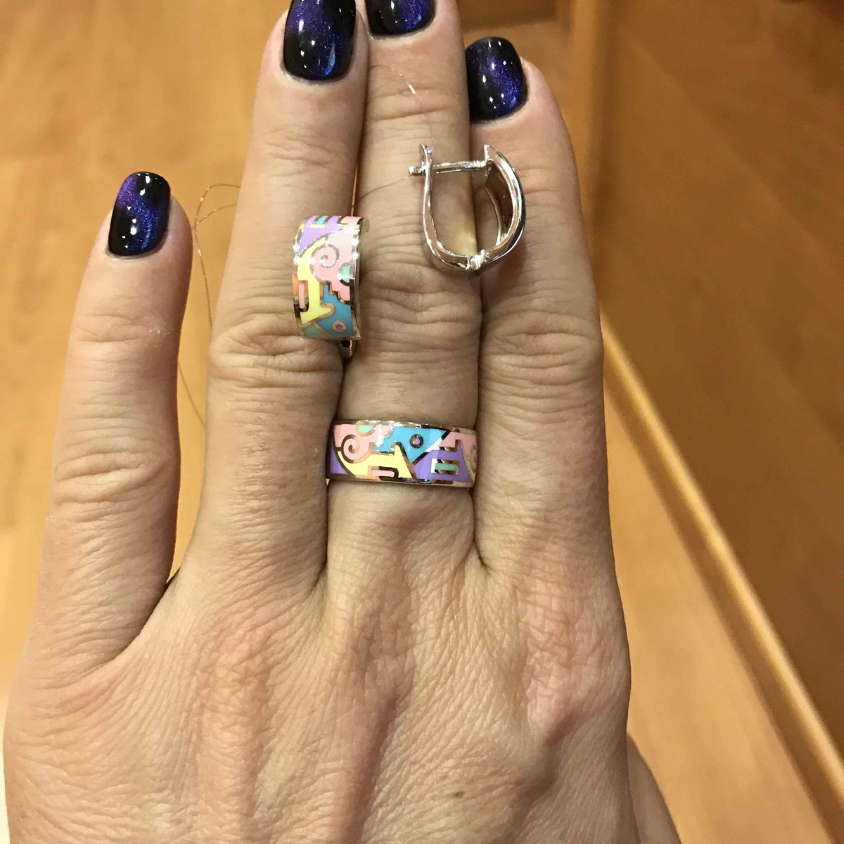Очень симпатичное кольцо