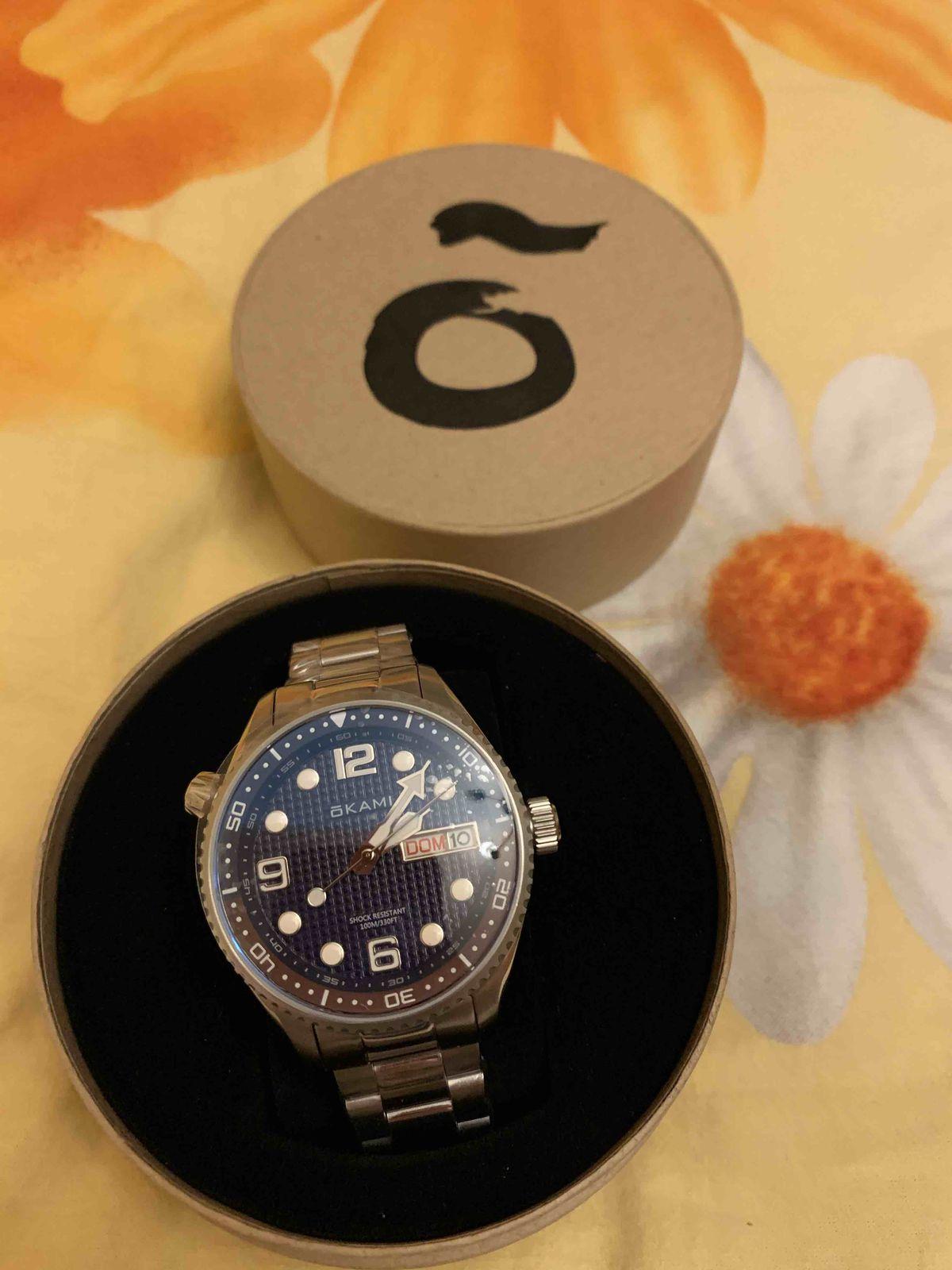 Кварцевые часы Okami