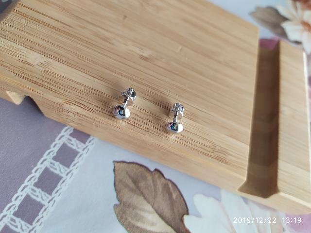 Серебрянные серьги от Sokolov