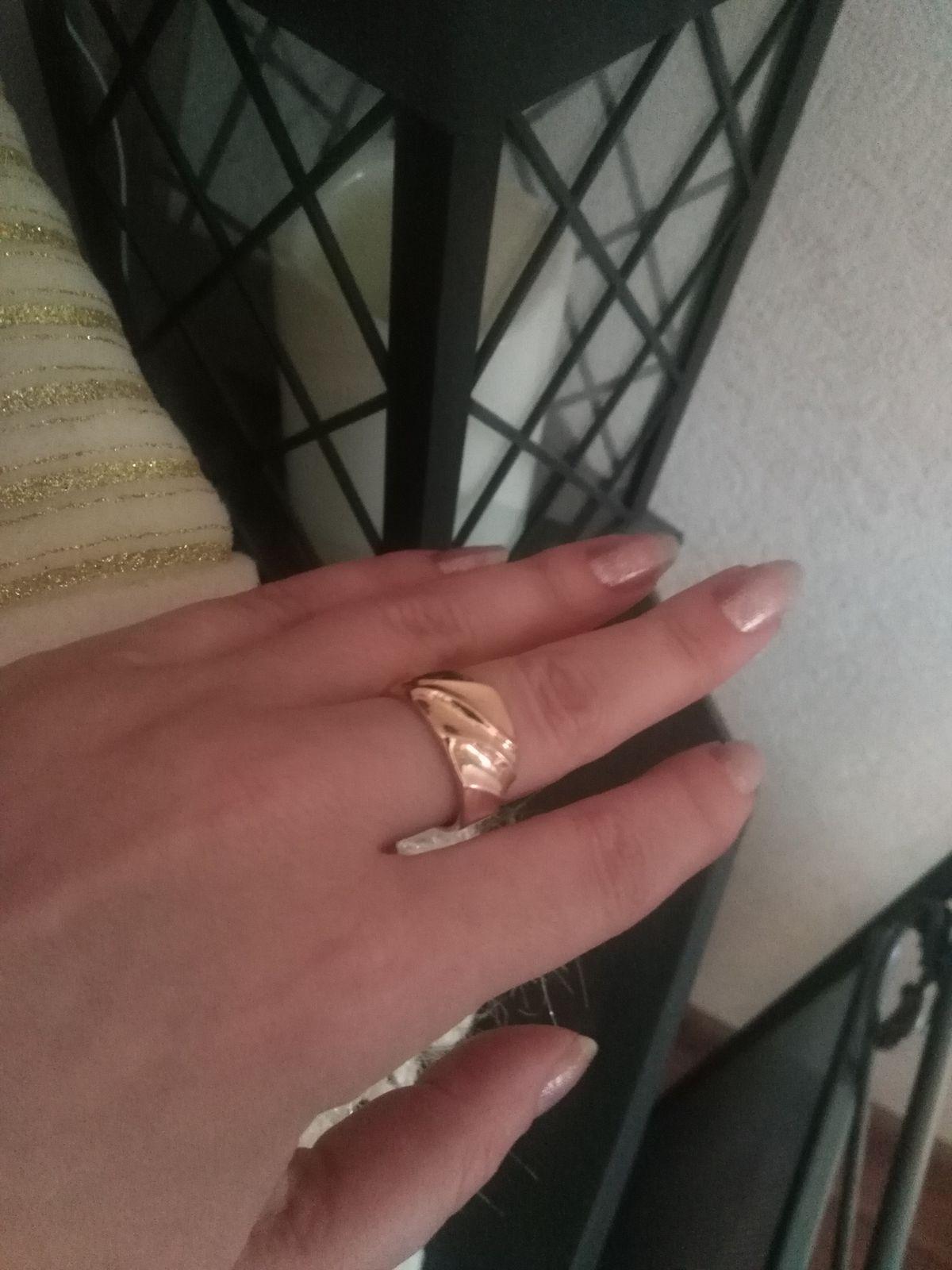 Кольцо себе любимой