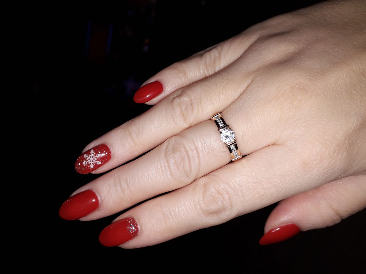 Очень красивое кольцо!