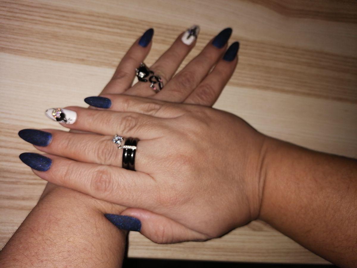 Серебряное кольцо кошечка