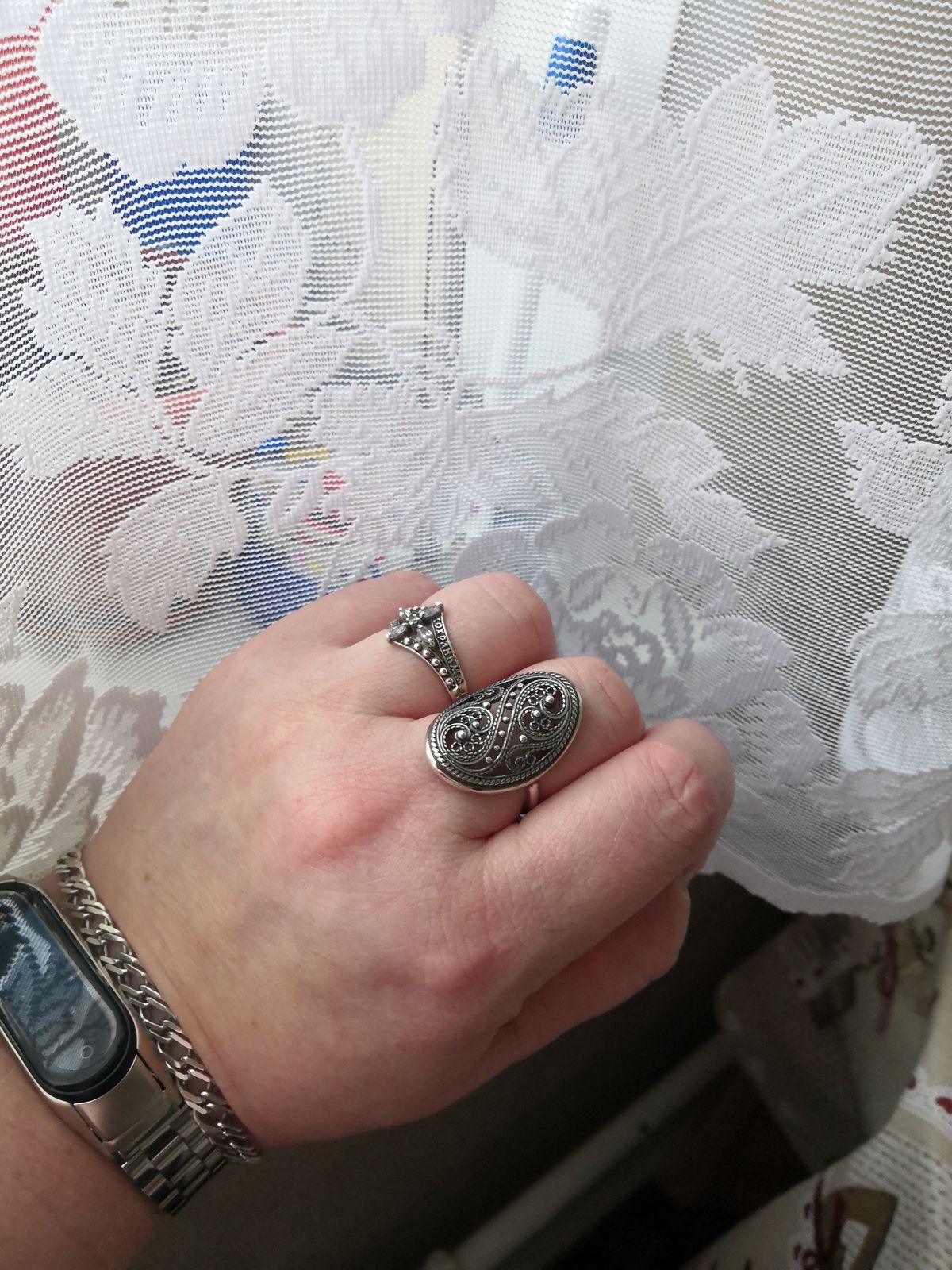 Кольцо из серебра!