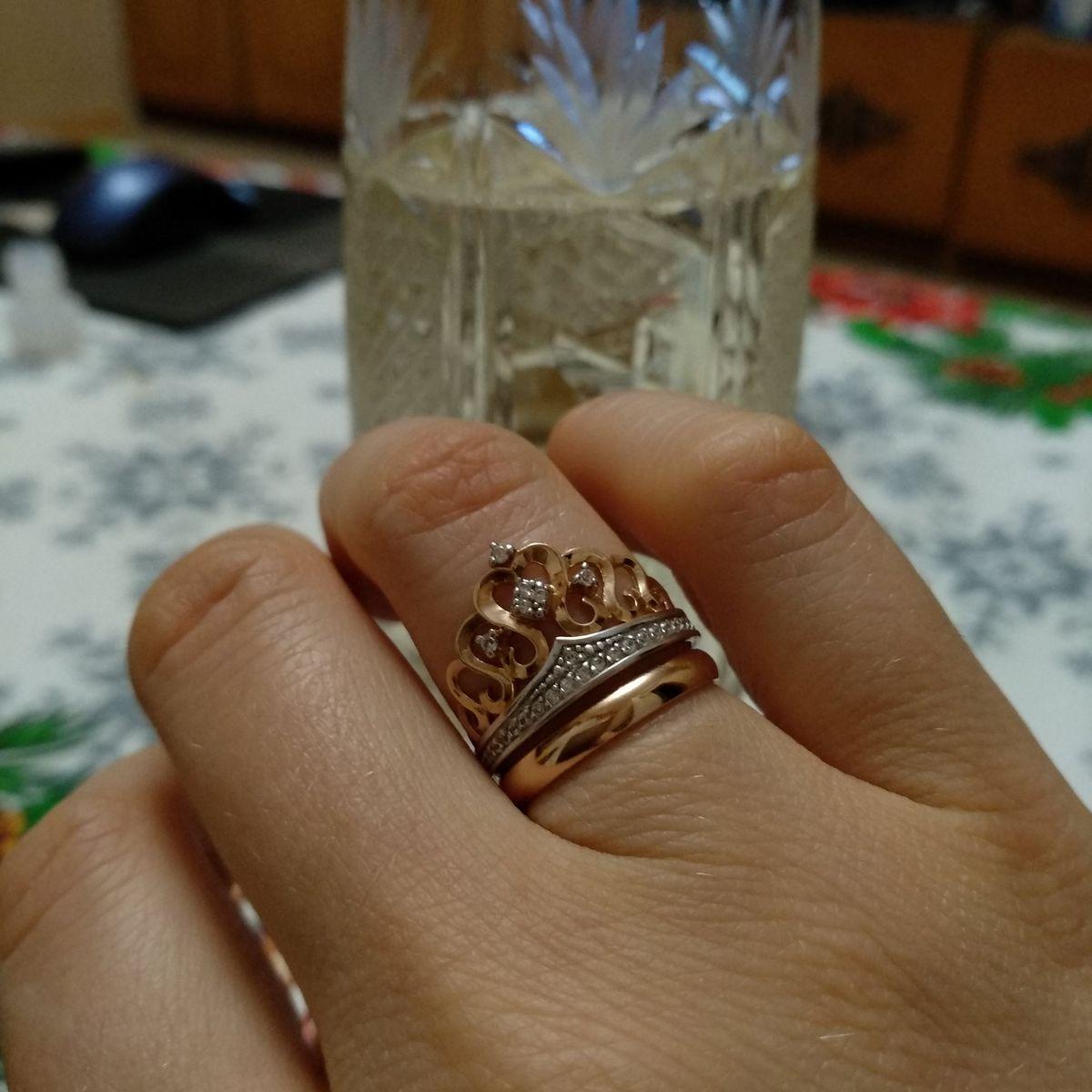 Кольцо - корона (диадема).