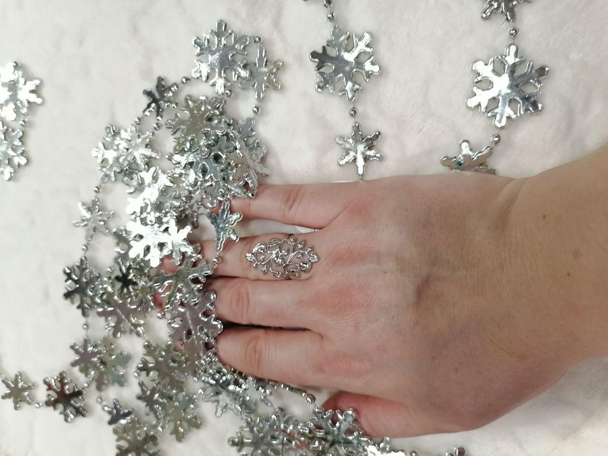 Красота и нежность серебра...