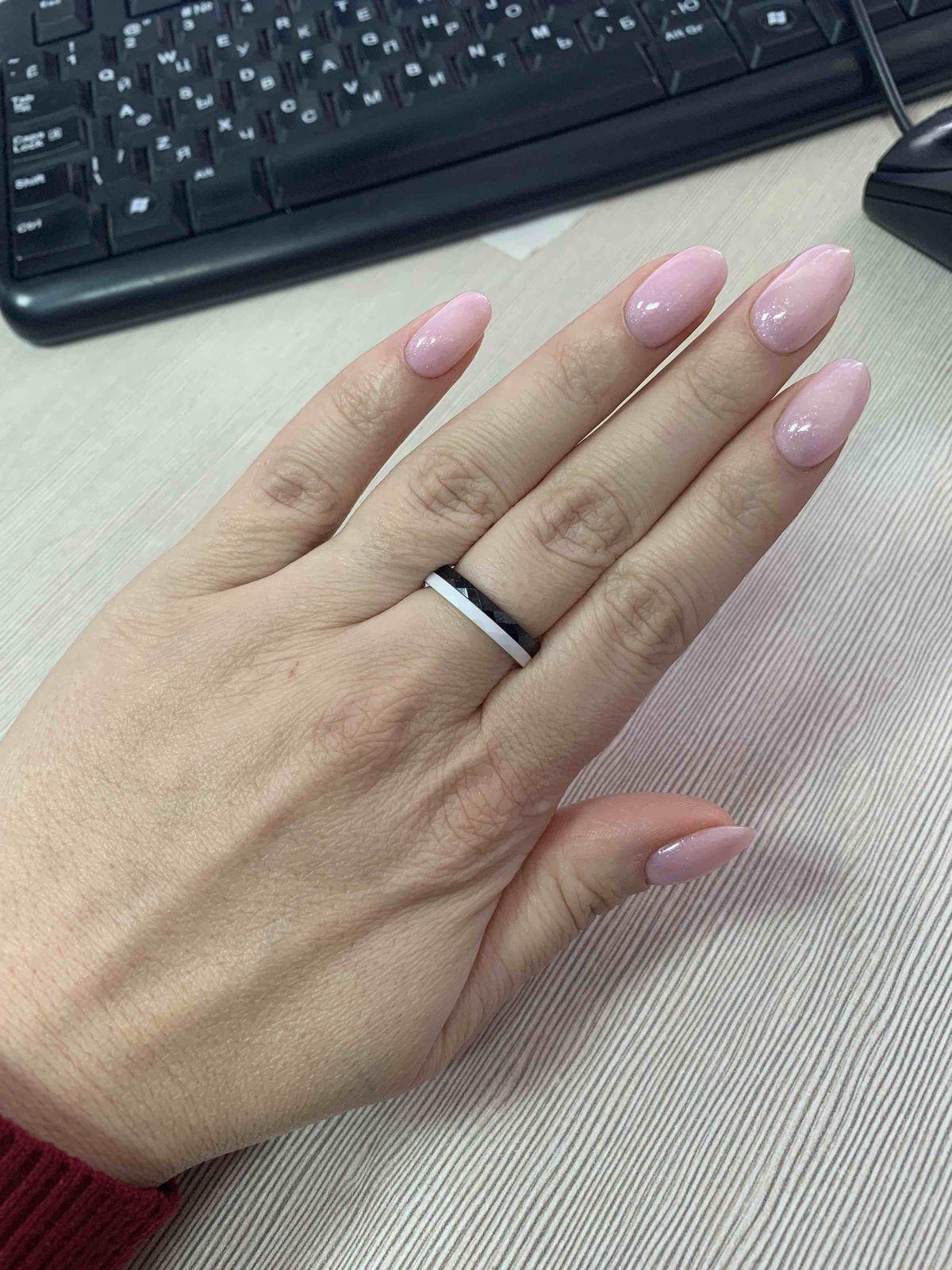 Кольцо белок керамика