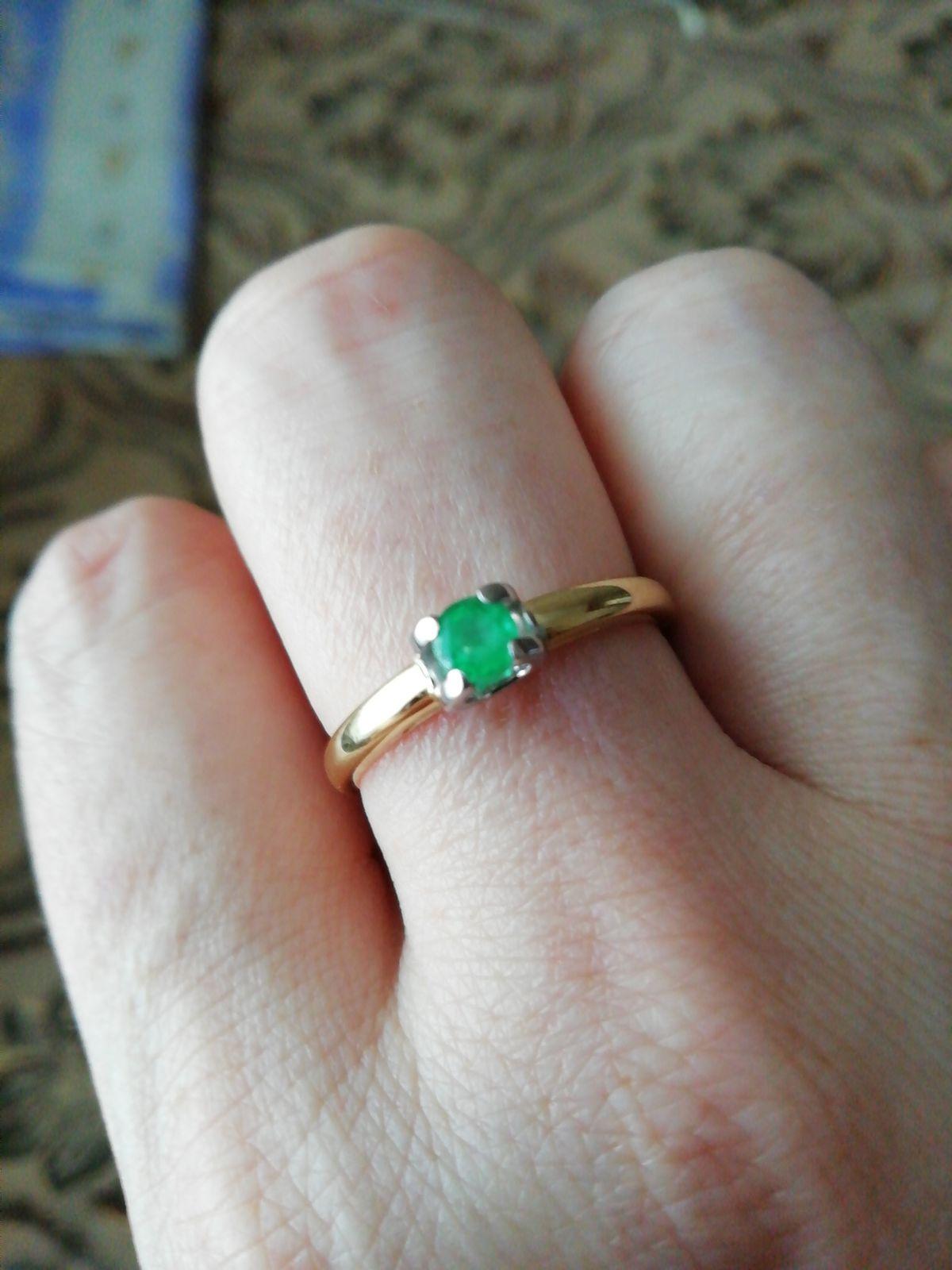 Кольцо купленное