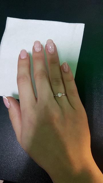 Изящное, нежное кольцо