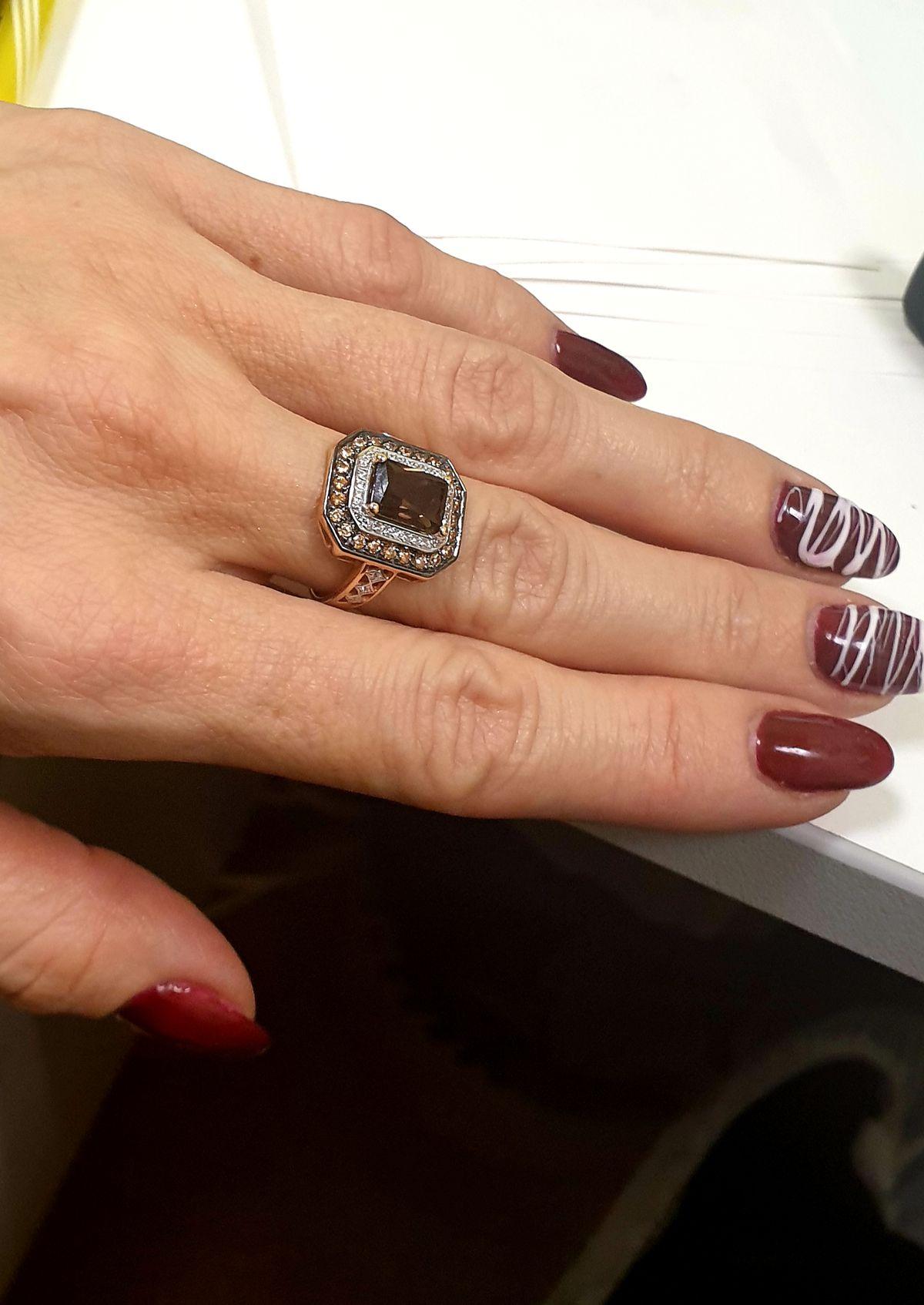 Очень богатое кольцо