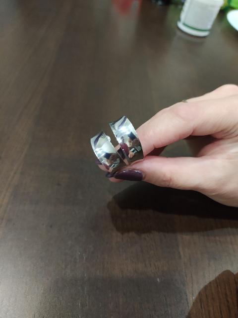 Отличные серебряные серьги