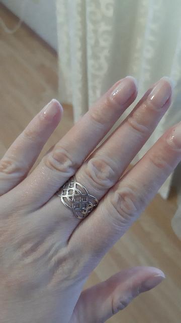 Кольцо очень красивое и комфортное