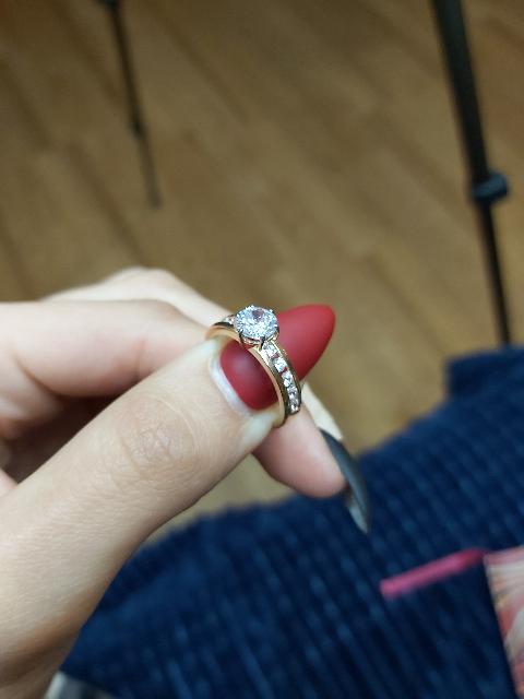 На помолвку