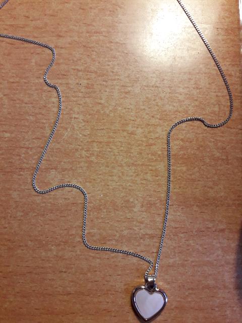 Прекрасная, серебряная цепочка