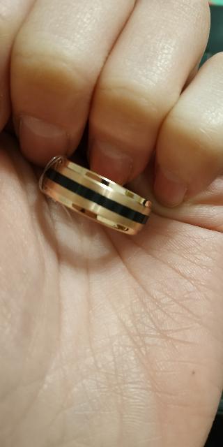 Крутое кольцо из стали