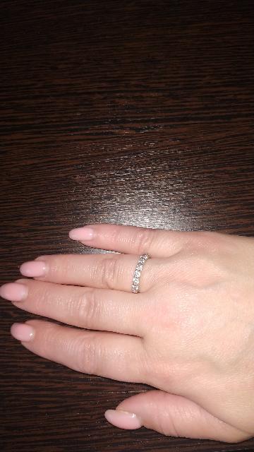 Шла за одной покупкой . А увидела это кольцо . И не разу не пожалела..