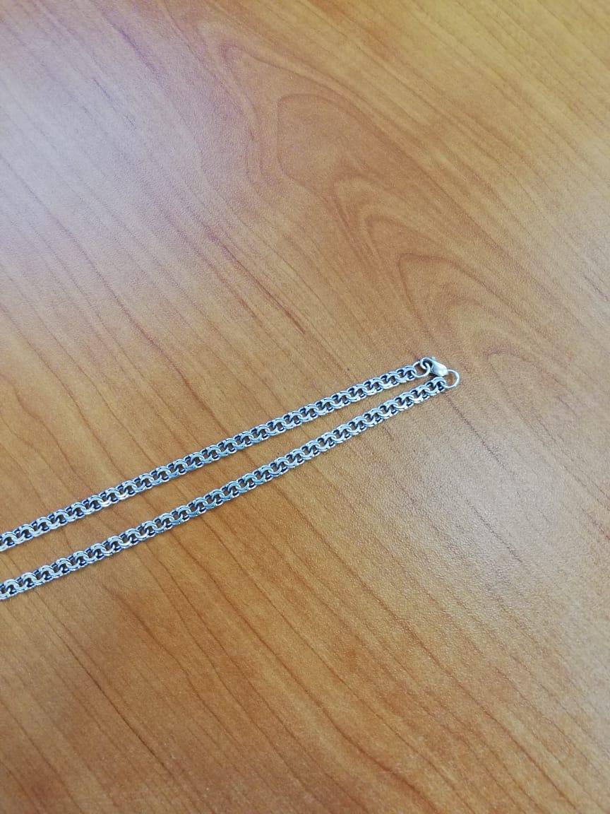 Серебряная,мужская цепочка
