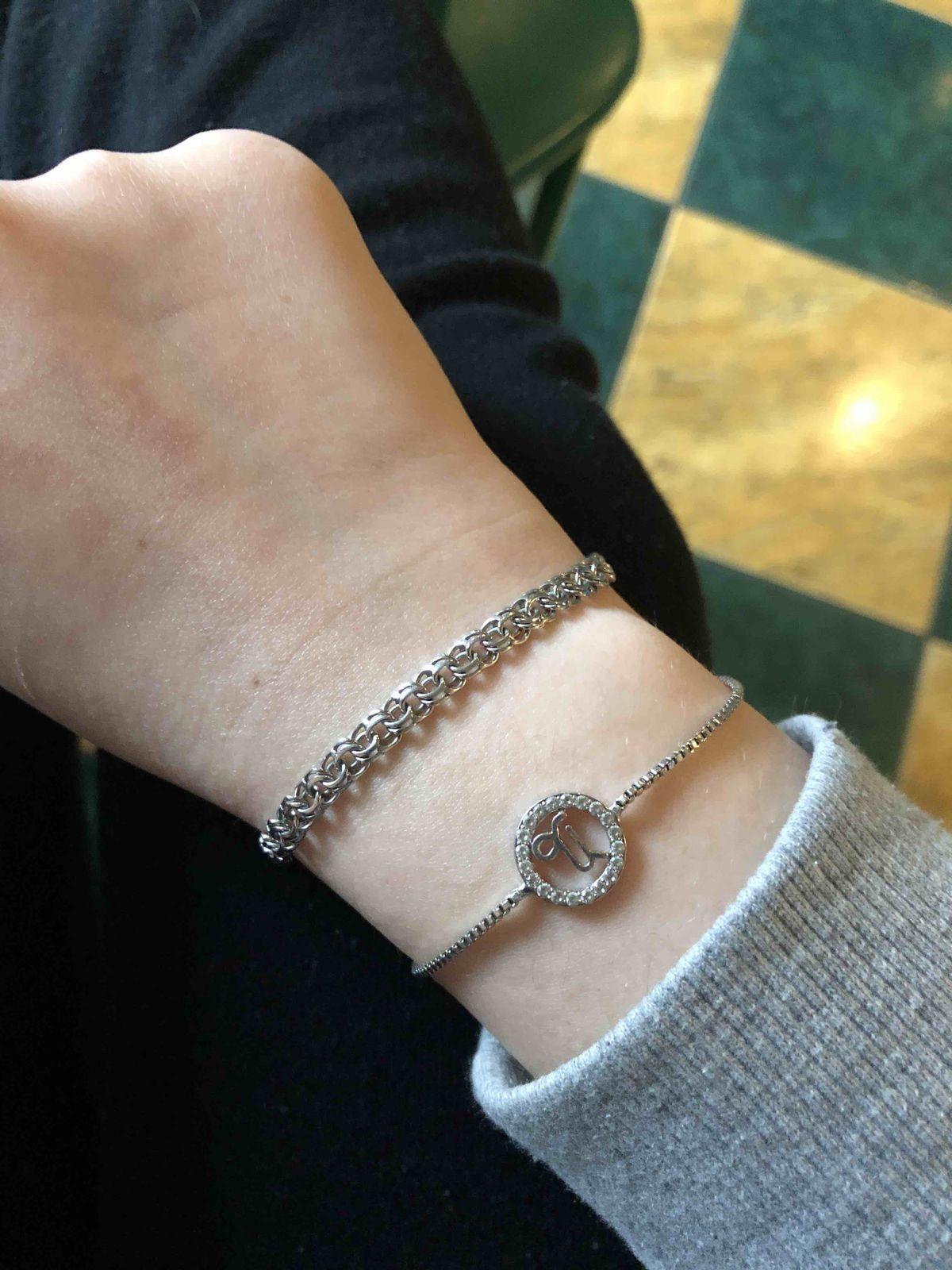 Серебрянный браслет!