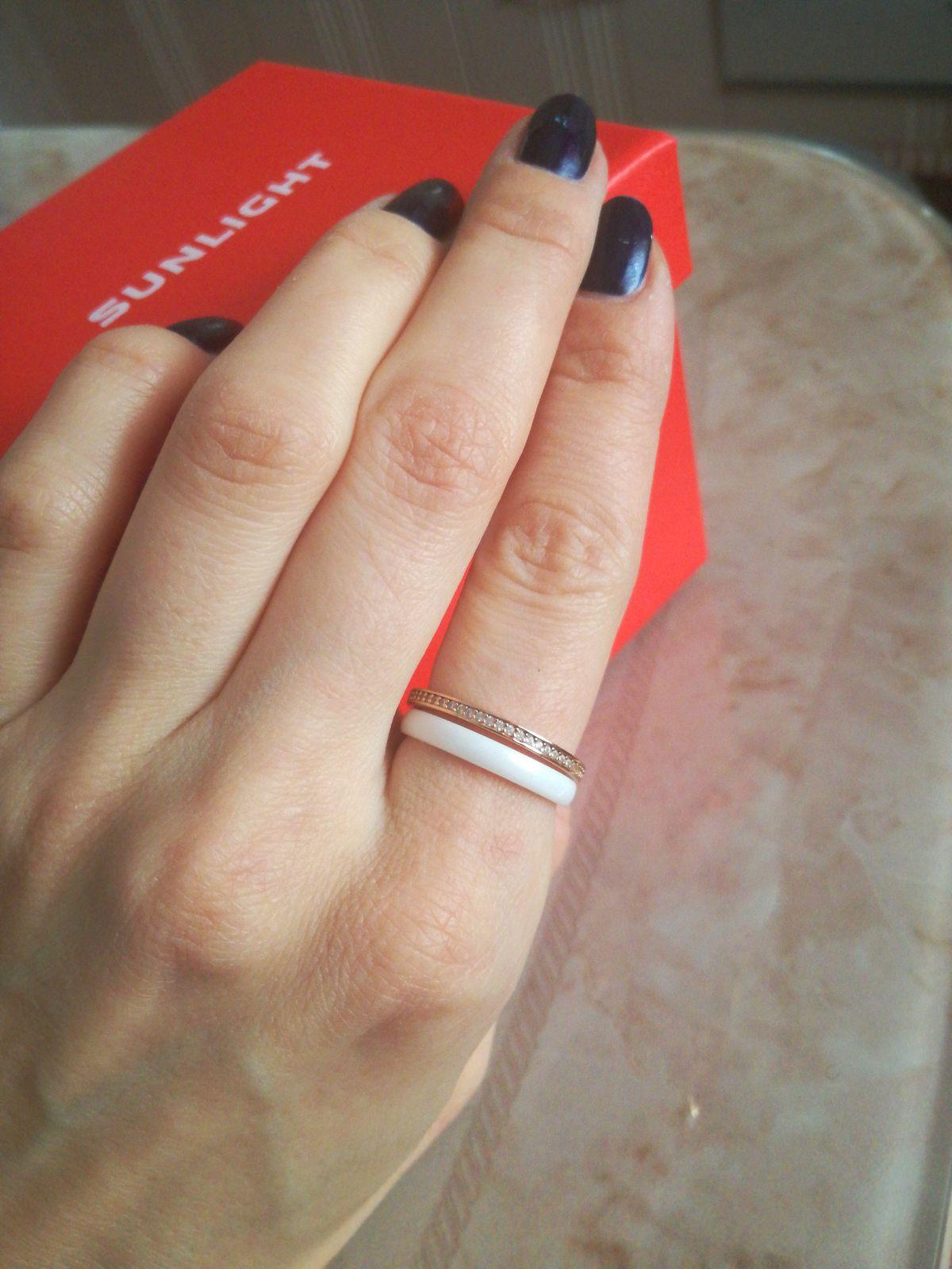 Кольцо керамика тройное