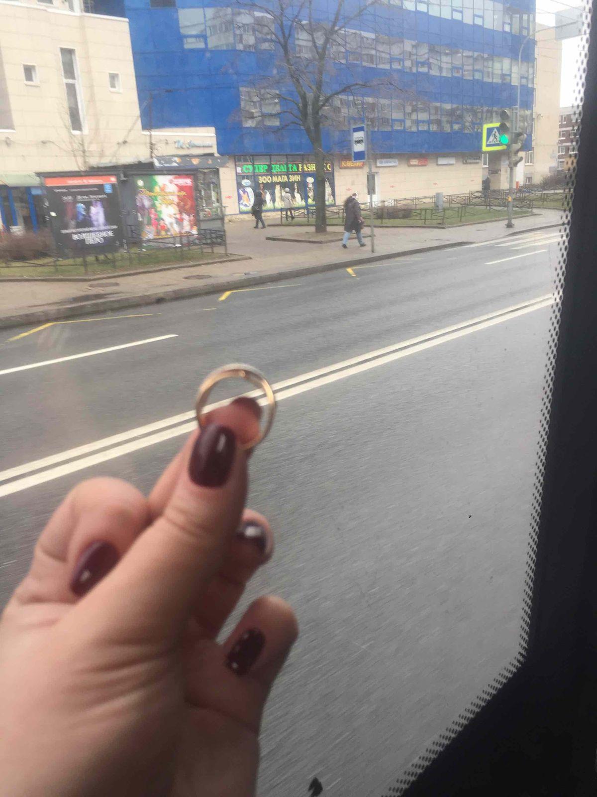 Очень приятное кольцо;)