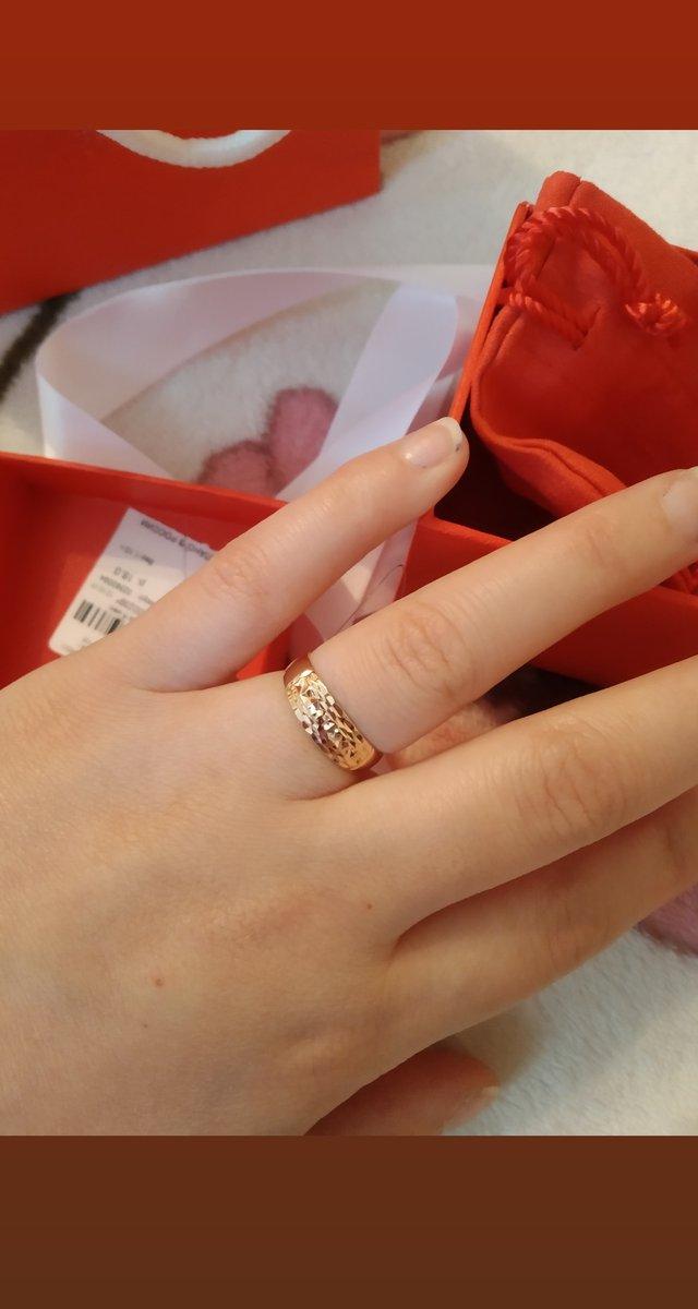 Мне очень очень понравилось кольцо, выглядит очень замечательно и красиво😘