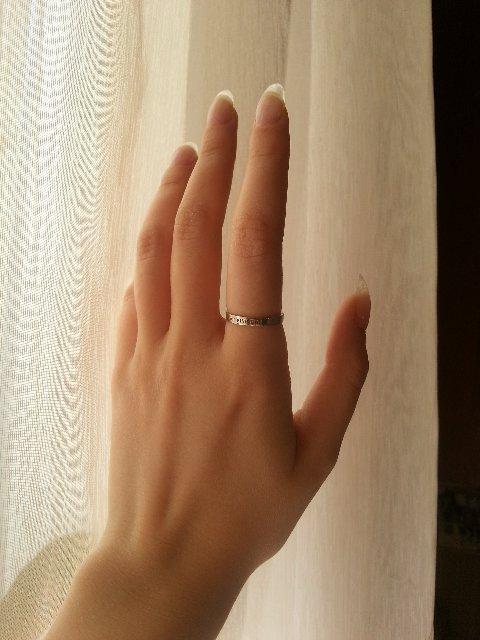 Замечательное кольцо без излишеств