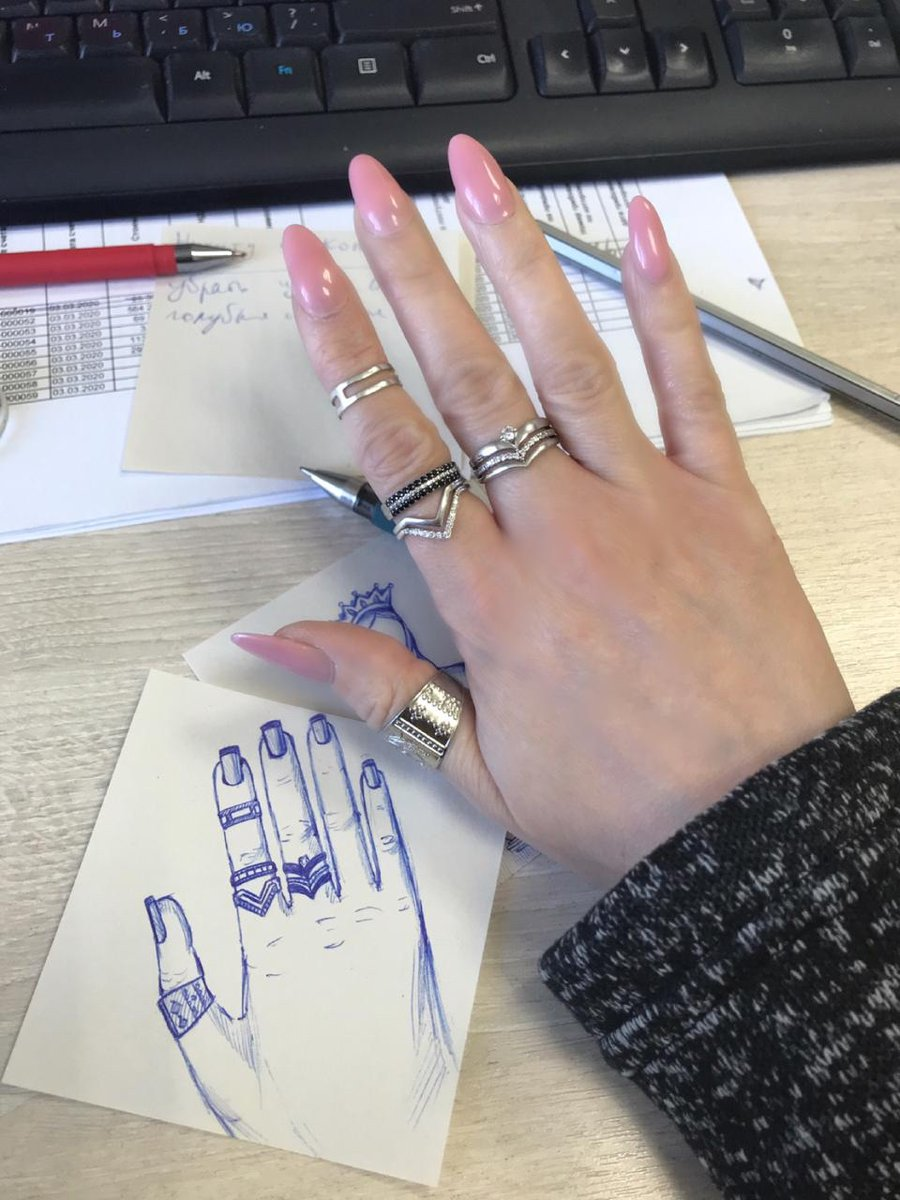 Фаланговое кольцо удобное в носке, никогда раньше не носила, но понравилось