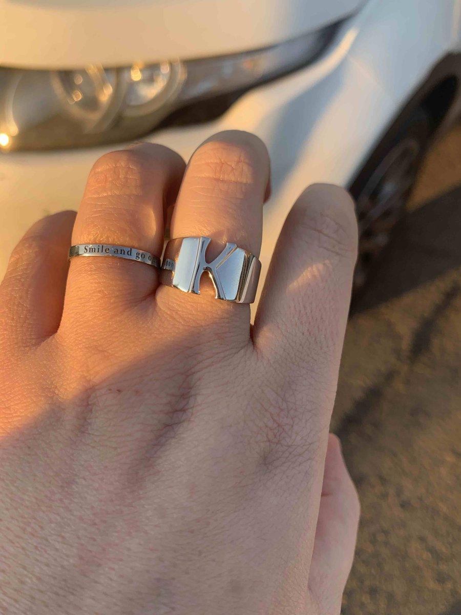 Очень милое кольцо со смыслом