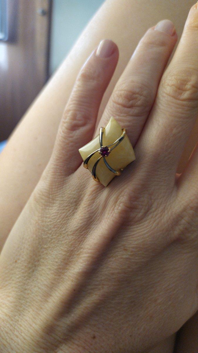 Кольцо с янторем