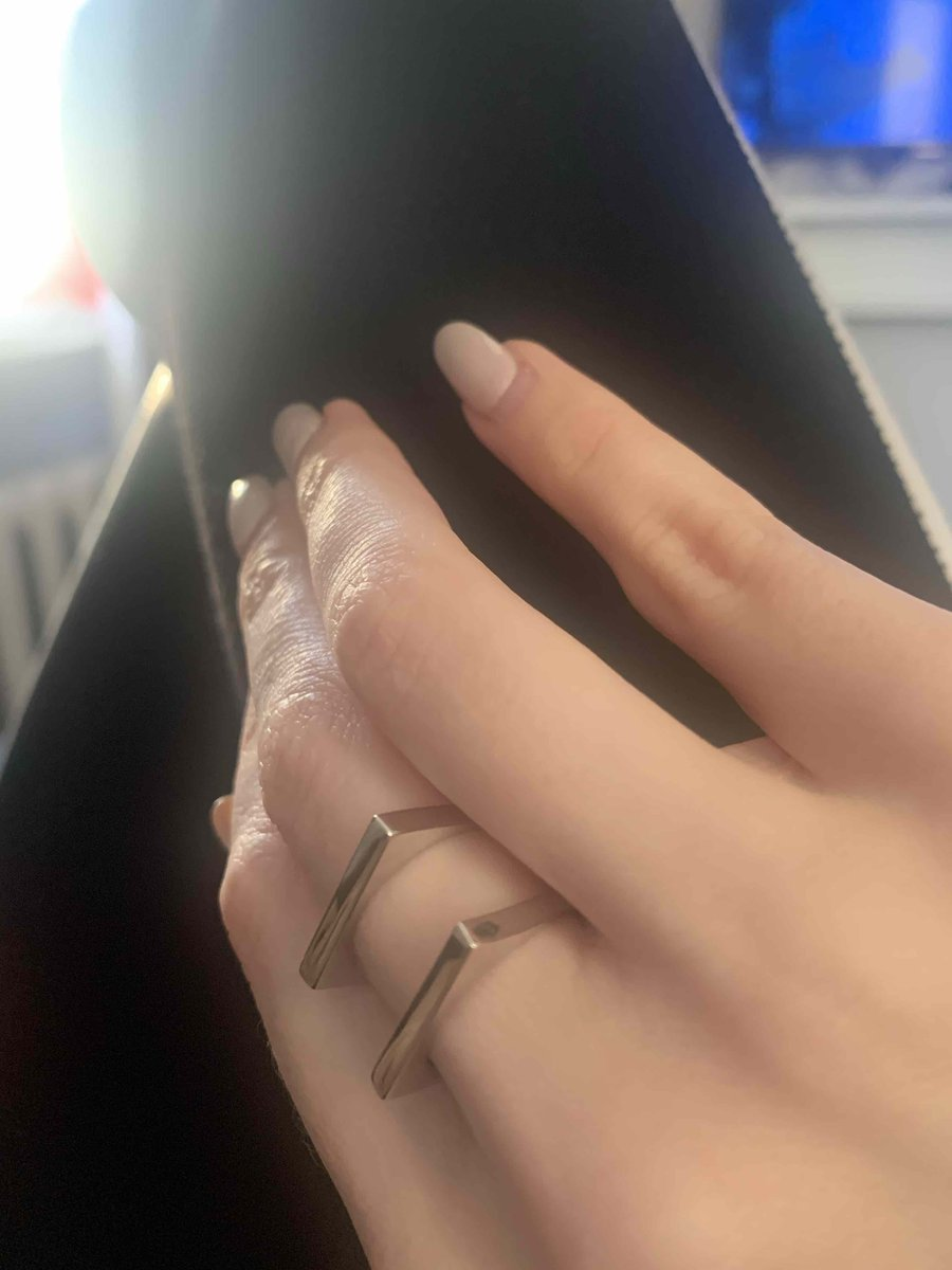 Прекрасное серебряное кольцо!