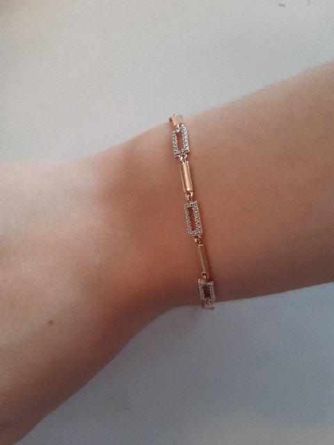 Оригинальный, нежный браслет