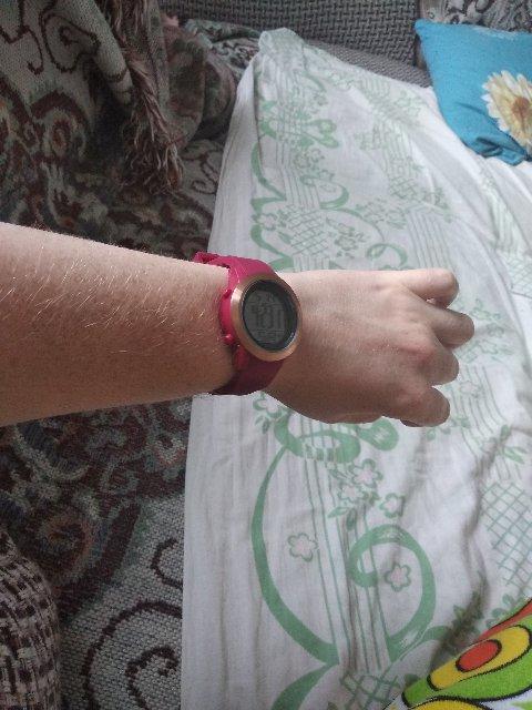 Часы электронные с подсветкой, будильником, месяц день!