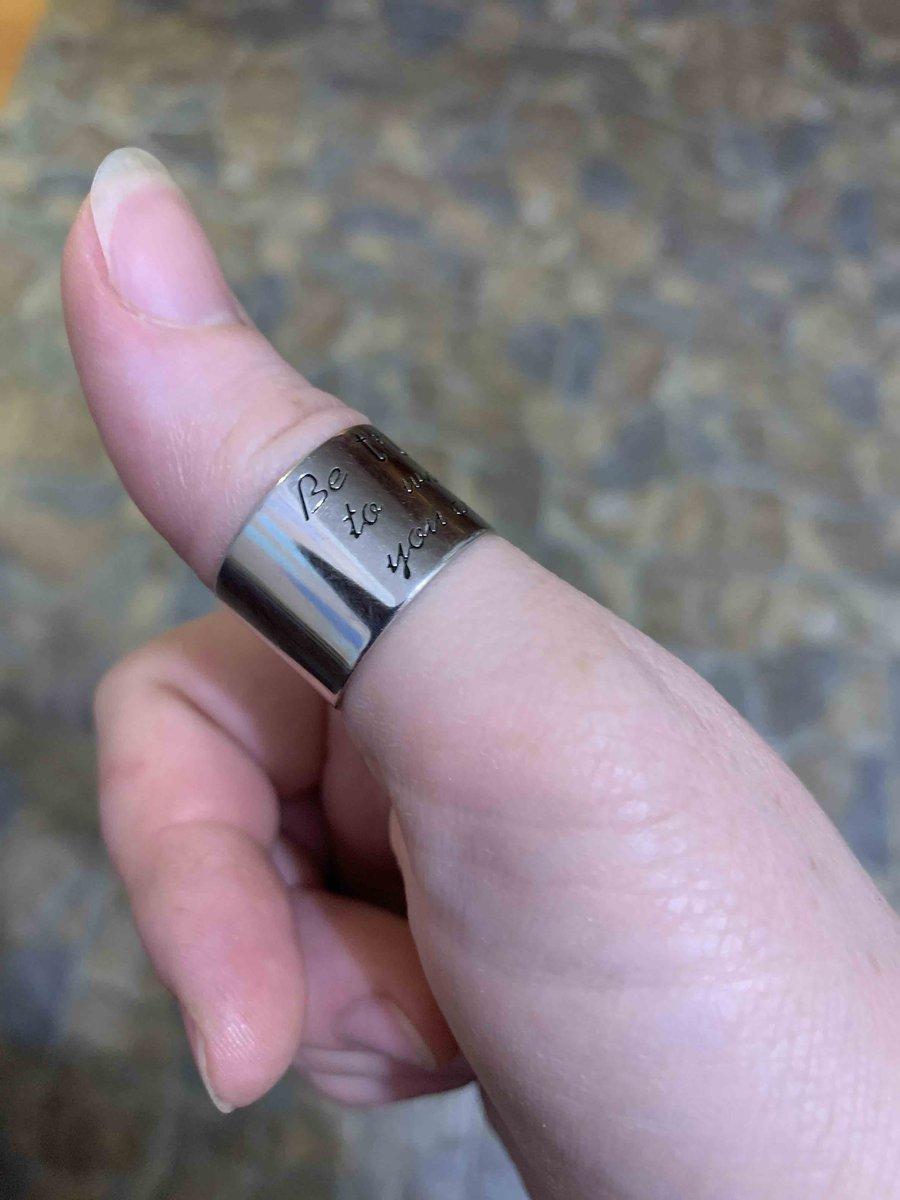 Очень объёмное кольцо