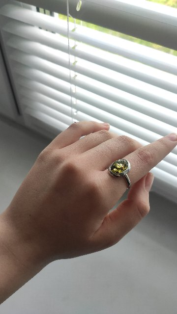 Прекрасное кольцо с хорошей скидкой