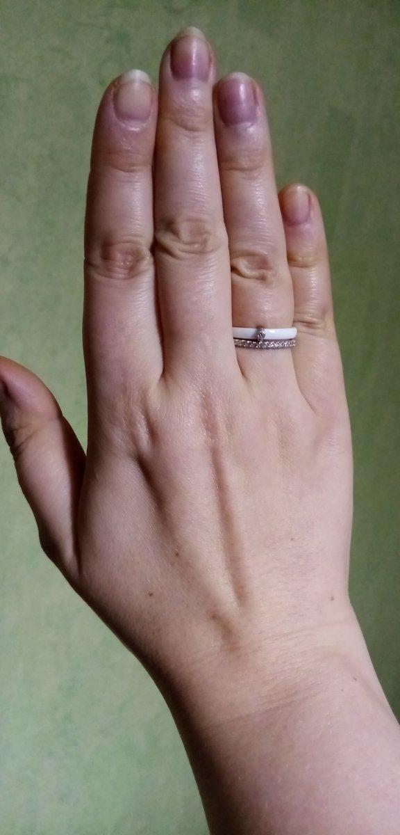 Прелесное кольцо с надписью внутри.