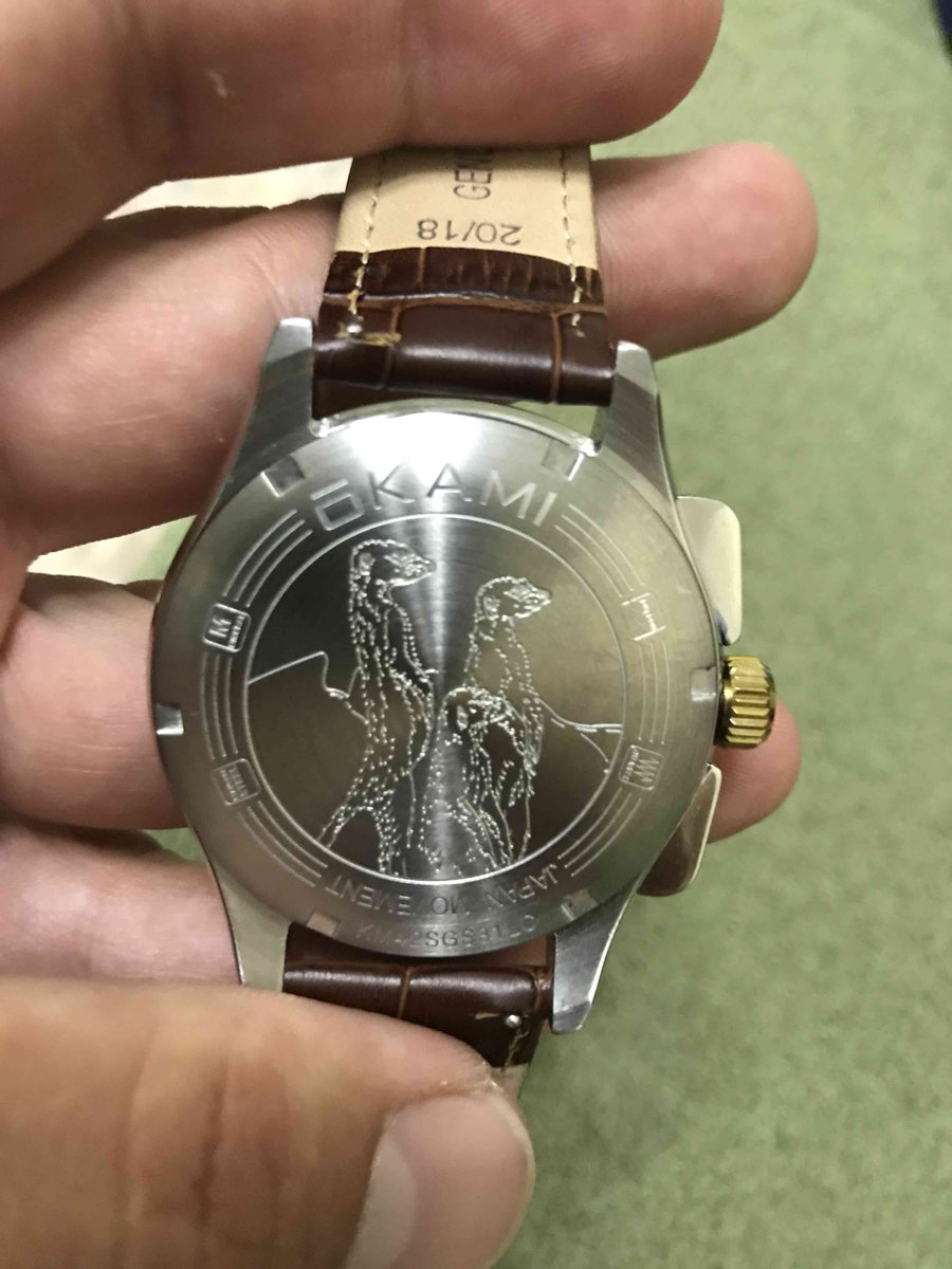 Упаковка часов.
