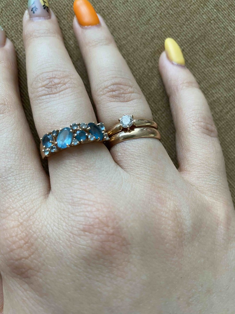 Очень элегантное кольцо